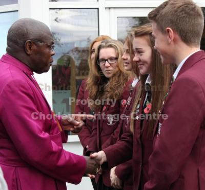 Archbishop of York Dr. John Sentamu Visit to Chorley 4th November 2014
