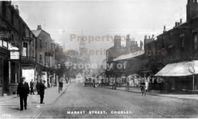 Chorley, Market Street 1904