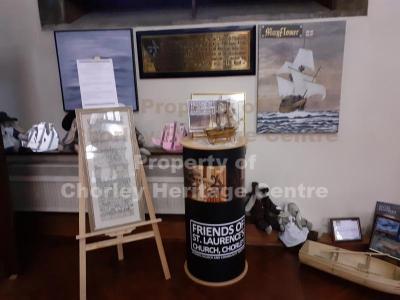 St Laurence's Myles Standish Exhibition