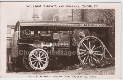 Transport - Fairground Steam Engine