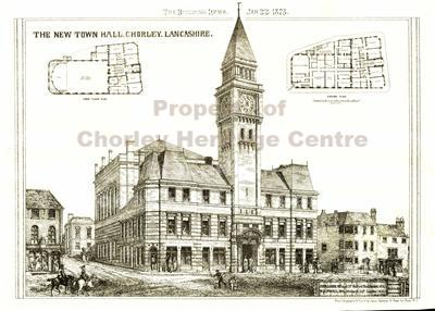 Town Hall Plans from 1873 newspaper